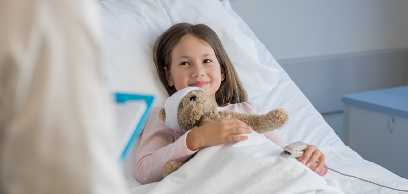 Health insurance: can I stay with my child in hospital?