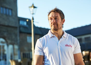 Jonny Wilkinson kicks off mental health campaign for Rugby World Cup